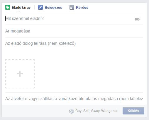 facebook csoport termék eladása funkció 2