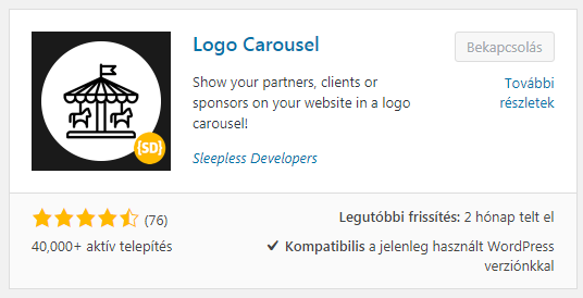 Logo Carousel WordPress plugin