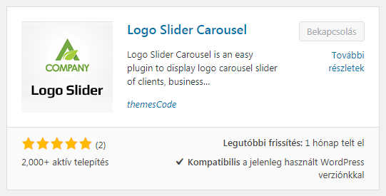 TC Logo Slider WordPress plugin
