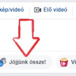 Új funkció a Facebook csoportokban: Jöjjünk össze!