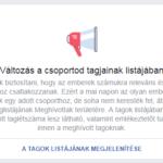Jól megszívatott minket a Facebook a csoporttagok törlésével