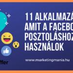 11 alkalmazás, amit a Facebook posztoláshoz használok