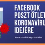 Facebook poszt ötletek koronavírus idejére, azaz hogyan tartsd meg a vevőidet?
